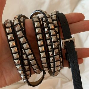 Wrap around Studded belt